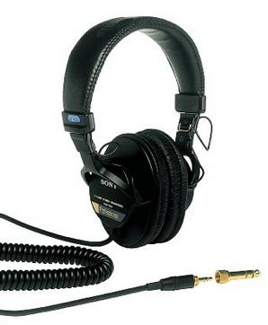 Equipment-Sony headphones