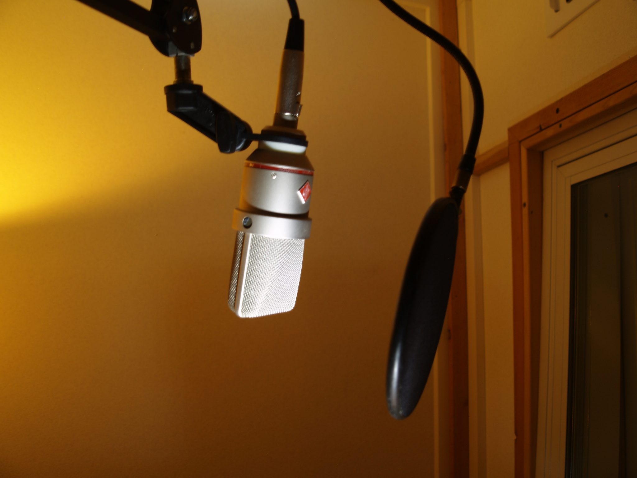Pop Filter Placement Neumann
