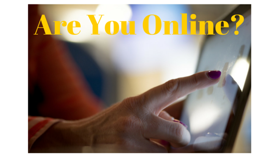 why a website is important-are you on line