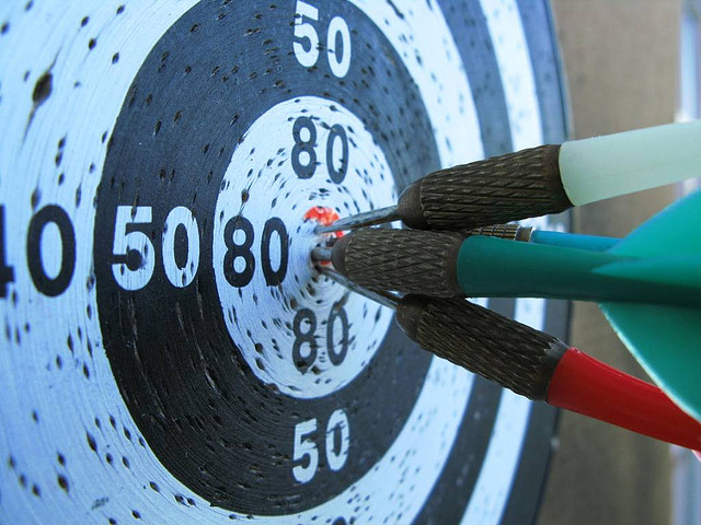 4 bullseyes