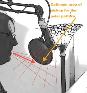 The Cardioid Sweet Spot-Condenser mic