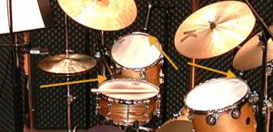 The Cardioid Sweet Spot-drum mics