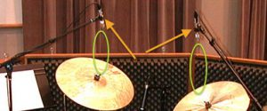 The Cardioid Sweet Spot-cymbal mics